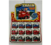 ZINC ALLOY PULL BACK 12 LOCOMOTIVES
