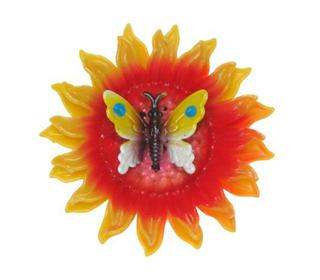 SUNFLOWER BUTTERFLY MAGNET