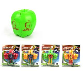 CARTOON TRANSFORMER TOY(4COLOR)