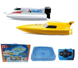 R/C  BOAT WITH POOL