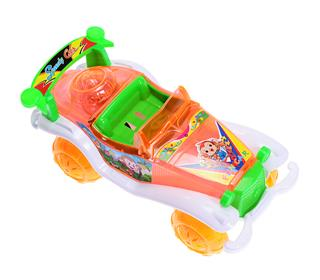 PULL STRING CAR WITH LIGHT