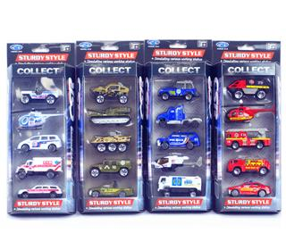 1:64 5PCS ALLOY CAR TOYS