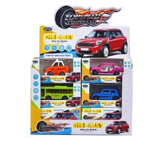 24PCS ALLOY CAR TOYS